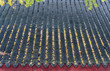 The eaves and roofs of the buildings of Suzhou Ji Hui Temple