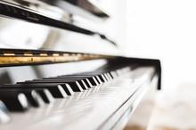 Classic Piano Key With Musicia...