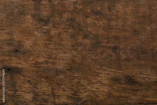Türaufkleber Holz Old scratched wooden background