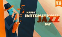 International Jazz Day Backgro...