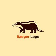 Vector Illustration Badger Logo Designs