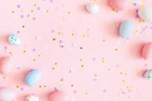 Easter Composition. Easter Egg...