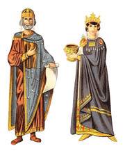 Ancient Byzantine Emperor And ...