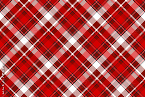 Poster Artificiel Red abstract modern seamless pattern