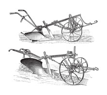 Old Ploughs (made In Germany) ...