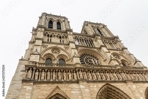 Fotografia  Notre-Dame de Paris exterior