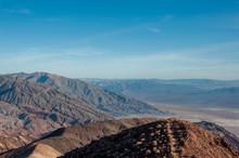 Desert Landscape In Death Valley National Park California