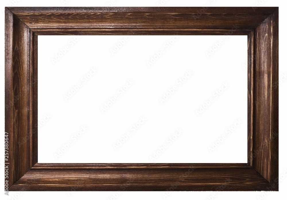 Fototapety, obrazy: Picture frame and white background