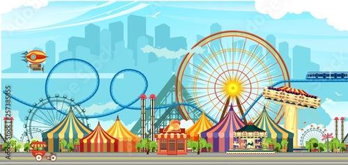 Photo  Amusement park circus