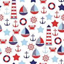 Nautical Baby Marine Pattern
