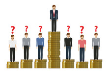Gap Between Rich And Poor Work...