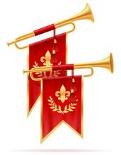 King Royal Golden Horn Trumpet...
