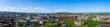 canvas print picture - Panorama von Edinburgh/Schottland
