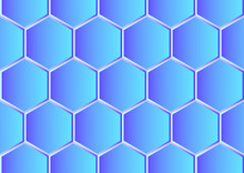 Abstract Hexagon Pattern Background