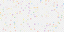 Festive Confetti. Celebration Stars. Joyous Stars