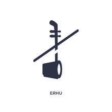 Erhu Icon On White Background....