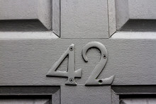 House Number 42 With The Forty...