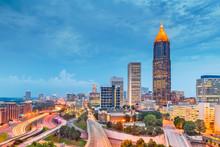 Atlanta, Georgia, USA Downtown...