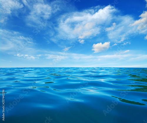 Fototapeta Blue sea water obraz na płótnie