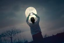 Woman Love Moon