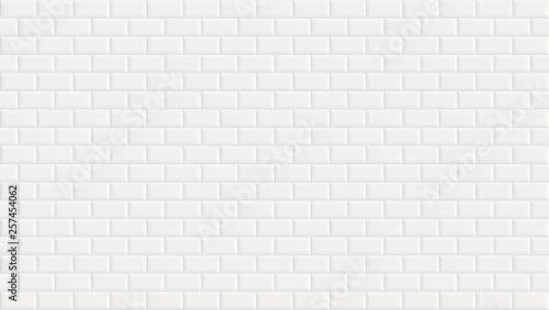 Pinturas sobre lienzo  White ceramic wall tiles texture background