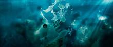 Toxic Plastic Waste Floating U...