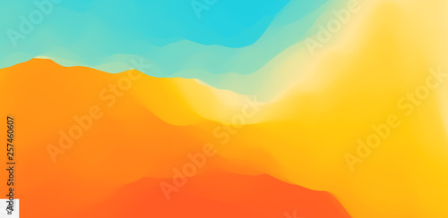 Foto op Aluminium Koraal Abstract background with dynamic effect. Motion vector Illustration..Trendy gradients. Can be used for advertising, marketing, presentation.