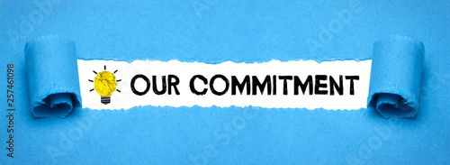 Photo Our Commitment