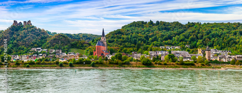 Romantic Rhine river cruises , medieval villages and castles of Germany