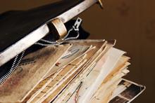 Postal Letters In The Vintage ...