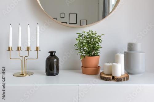 Scandinavian interior with decorative accessories Fototapete