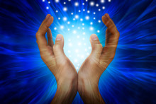 Hands With Power Rays