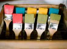 Colorful Paint Brushes, Vancou...