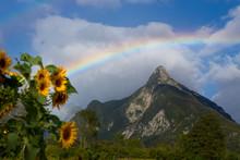 Rainbow Above Veliki Pihavec M...