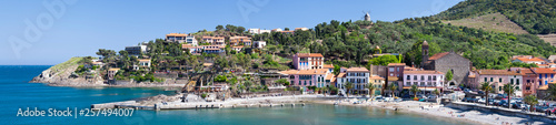 The town of Collioure, Languedoc, France