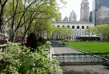 Bryant Park, New York City.
