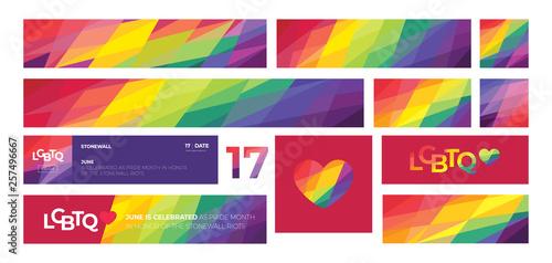 Fotografia Support for LGBTQ pride