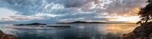 Lopez Island During Sunset, Sa...