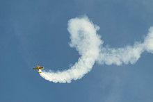 Airplane Performing During Airshow, Puerto Penasco, Sonora, Mexico