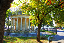 Memorial Of Lieutenant General Sir Thomas Maitland In Spianada Square In Corfu
