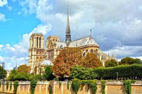 Fotografia Cathedral of Notre Dame de Paris, France