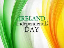 Ireland Independence Day Backg...