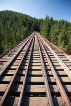 Goldstream Trestle Railway Bri...