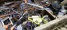 Municipal Dump Of Materials