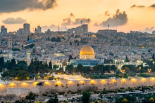 Jerusalem With Dome Of The Roc...