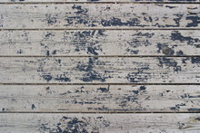 Gray Planks Of The Old Pier Wi...