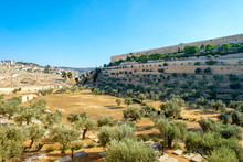Kidron Valley, Jerusalem, Israel
