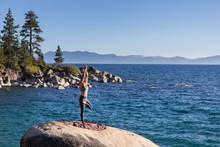 Yoga At Lake Tahoe