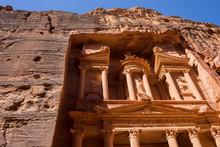 Al-Khazneh (The Treasury), Petra, Wadi Musa, Maan Governorate, Jordan