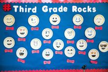 Elementary School Bulletin Board Third Grade
